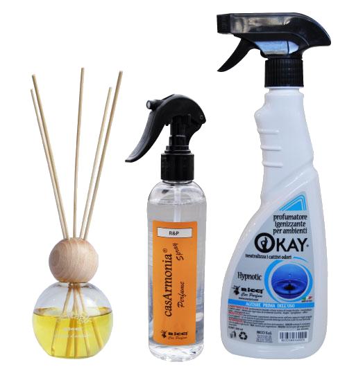 Ricci srl car parfume profumi per auto e ambienti - Profumi per ambienti fatti in casa ...
